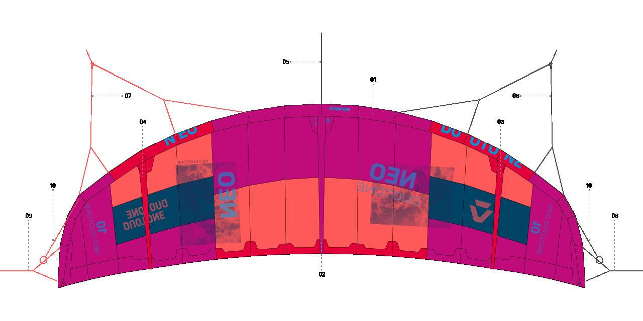 Duotone Kiteboarding Spareparts Get The New Kite Spare Parts Diagram Neo